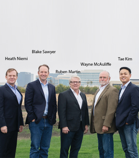 Heath Niemi, VP of Global Sales & Blake Sawyer, Chief Commercial Officer & Ruben Martin, Owner & CEO & Wayne McAuliffe, VP, Programs & Tae Kim, COO & CFO, Martin UAV