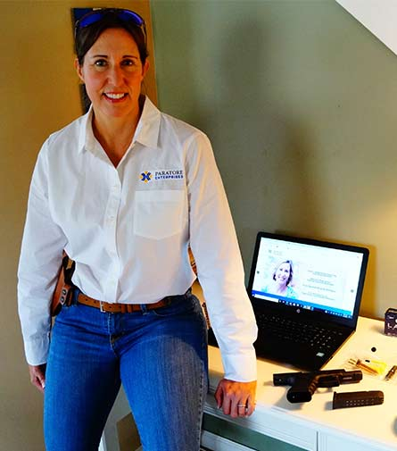 Dalia Paratore Harrison, President and Founder, Paratore Enterprises, Inc