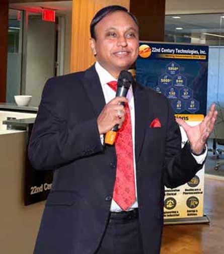 Anil Sharma, CEO, 22nd Century Technologies
