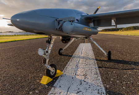 New Aerial Surveillance Abilities with IMSAR's NSP-7 Synthetic Aperture Radar on a Primoco UAV One 150