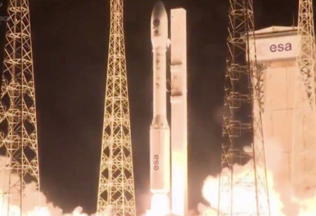 Arianespace Successfully Launches Vega on Return-to-Flight Mission with 53 Smallsats