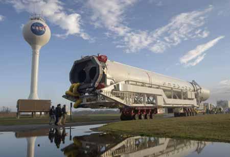 Cygnus takes off to ISS, Feb 15