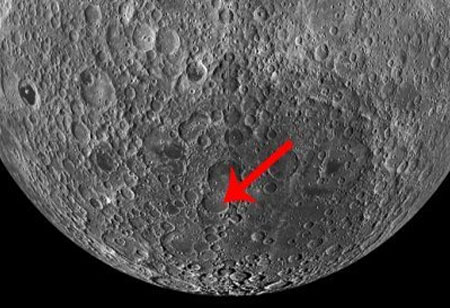 NASA Lunar Orbiter Spots Chinese Satellite's Crash Site on Far Side of Moon