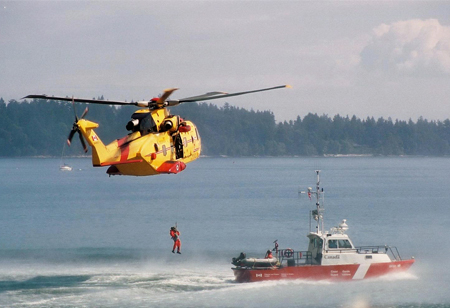 Three Technologies in Maritime Search and Rescue Operations