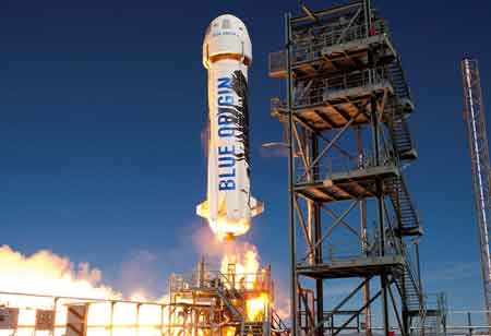 Blue Origin Opens New Factory for Production of BE=4 and BE-3U Engines