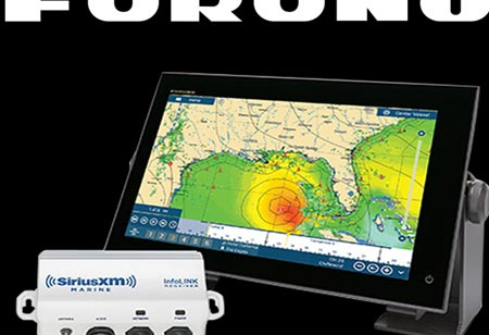 Furuno Announces the Addition of SiriusXM Marine Fish Mapping Service to NavNet TZtouch3 Displays with BBWX4 Satellite Weather and Entertainment Receiver