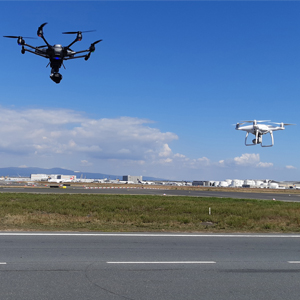 Systematic Detection of Drones at Airports
