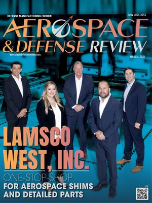 aerospace & defense review cover photo, march 2021